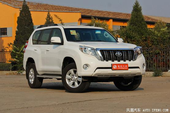 丰田普拉多天津最高优惠0.5万 现车销售