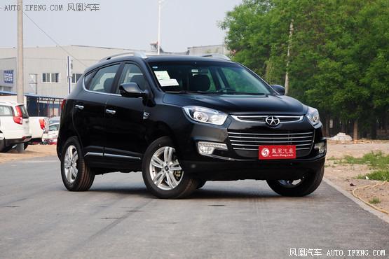 江淮瑞风S5最低11.58万起售 店内有现车