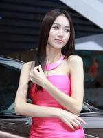 气质清纯的邻家小妹 2013深港澳车展 美女车模