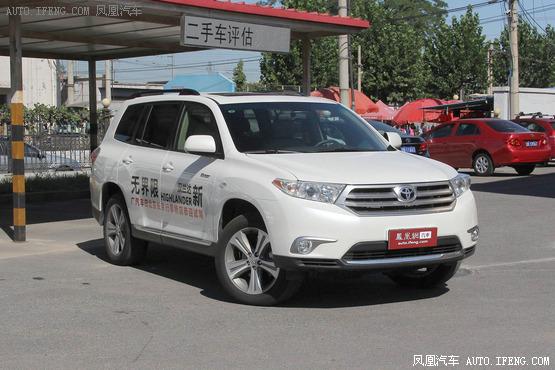 汉兰达唐山可优惠1.8万 有现车在售