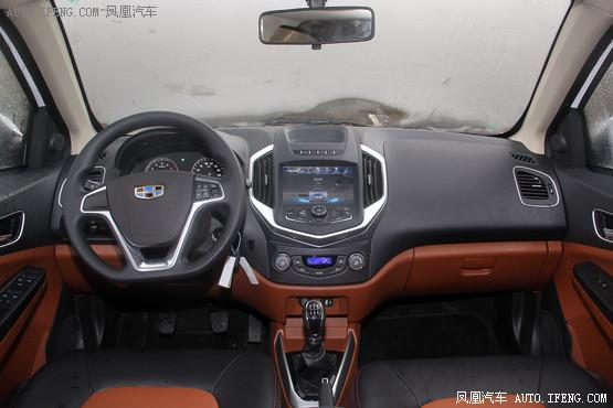 2016款 吉利金刚 1.5L 手动精英型
