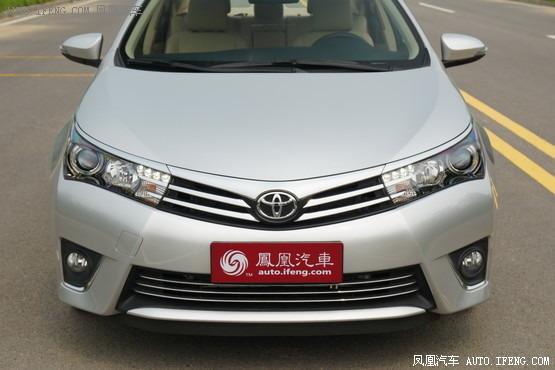 2014款 丰田卡罗拉 1.8l