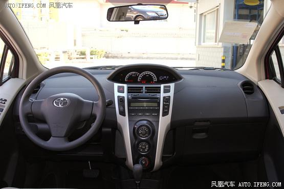 2011款 丰田雅力士 1.6E 自动魅动版